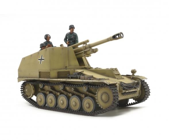 1:35 Panzerhaubitz Wespe Italien. Front