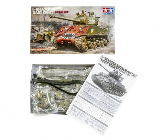 1:35 US M4A3E8 Sherman Easy Eight Korean
