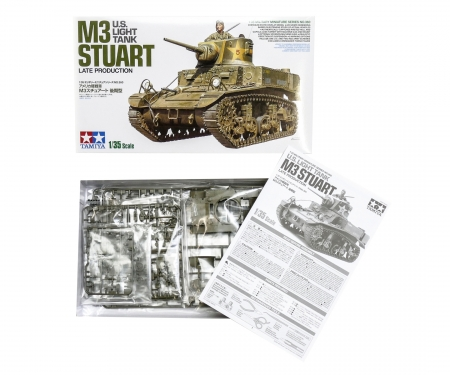 1/35 M3 Stuart Late Production