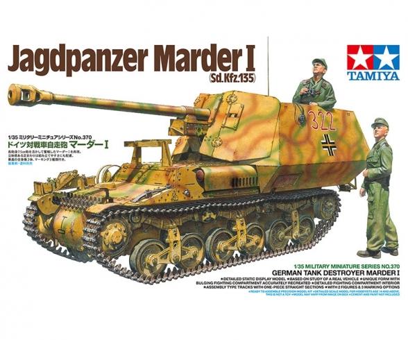 1:35 Ger. Marder I Tank Destroyer