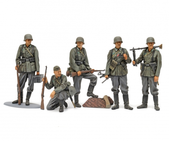 1/35 German Infantry Mid-WWII
