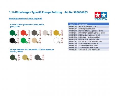 Kubelwagen European Campaign