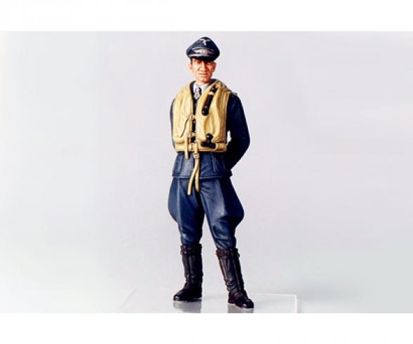 1:16 WWII Figur Dt.Luftwaffe Flieger-Ass