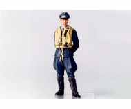 1:16 WWII Figur Dt.Luftwaffe Flieger-Ass