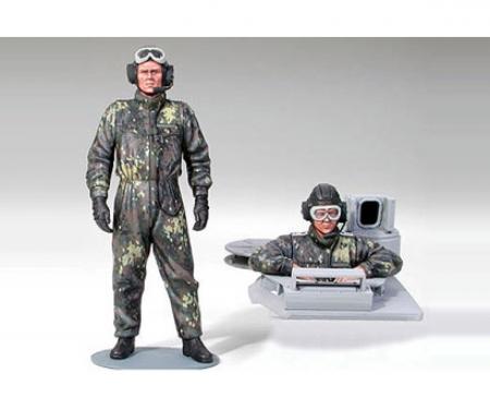 1:16 Fig. Bundeswehr Tankcr. Leopard (2)