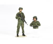 1:16 Figuren JGSDF Panzerbesatzung (2)