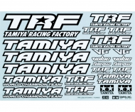 1:10 Sticker-Set TRF black/white