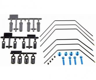 TRF418/417/TB04 Stabilizer Set F/R (3+3)