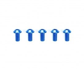 3x6mm HG Alu HH Screw Blu *5
