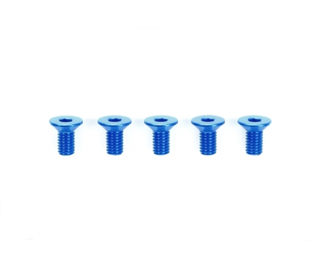 3x6mm HG Alu CSHH Screw Blu *5