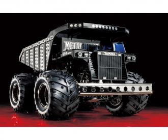 1:24 RC Metal Dump Truck chrome (GF-01)