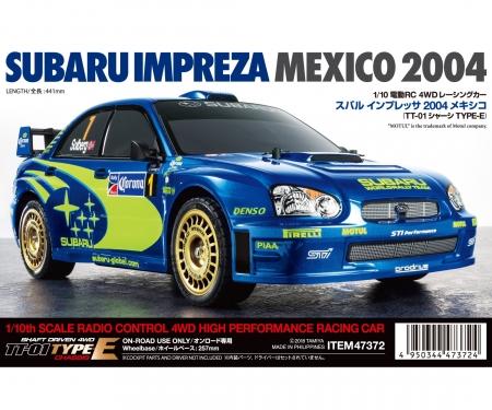 Impreza Mexico '04 (TT-01E)