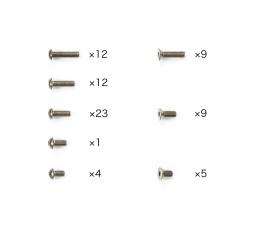 TC-01 Titanium Screw Set