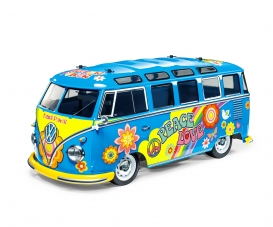 1:10 RC VW Bus Type 2 T1  Flower Power