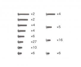 TA08 PRO Titanium Screw Set