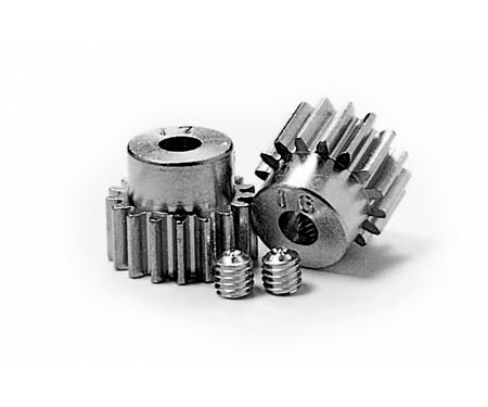 Pinion Gear-Set 16/17T Alu M0.6