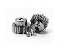 Pinion Gear-Set 20/21T Alu M0.6