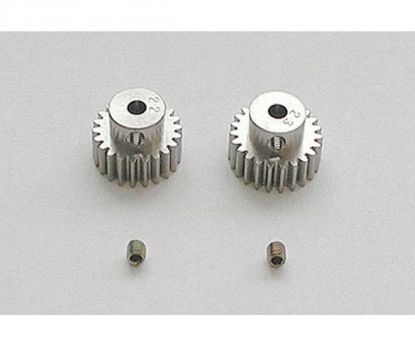 Pinion Gear-Set 22/23T Alu M0.6