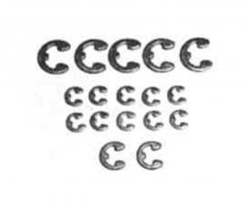 E-Ring Satz (17) 2mm/3mm/4mm