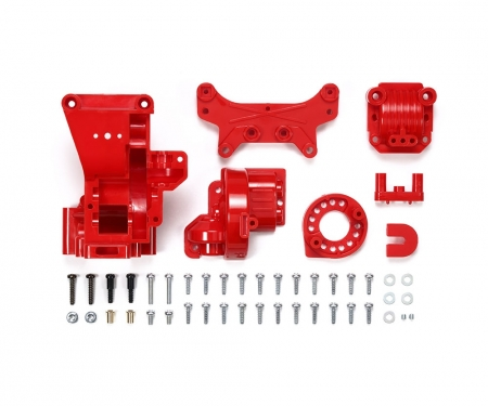 TA01/02 B-Parts Rear Gearcas red