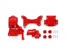 TA01/02 4WD Front Gear Case red