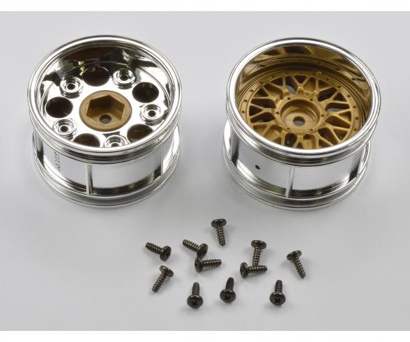 Wheels Porsche 934 30mm chr./gold(2)