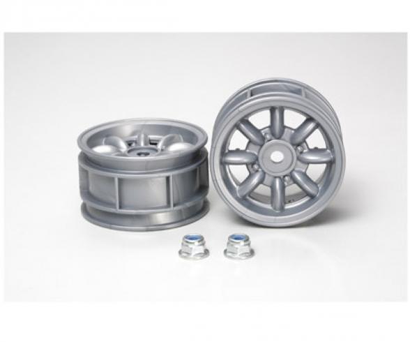 M-Chassis 8-Spoke Wheels (2) silver
