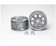 M-Chassis 8-Spoke Wheels (2) silver