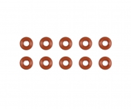 Damper O-Ring 3x6mm Rot (10)