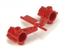 TA-01/DF-01 Achsschenkel (2) vorne rot