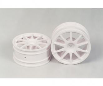 10-Spoke Wheels white (2) 26mm