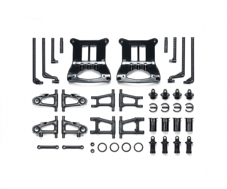 TT-01/E B-Parts Suspens. Arm/Body Mount