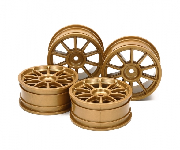 1:10 Wheel Subaru Impreza gold 24,5mm(4)