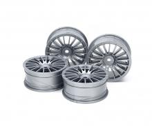1:10 Wheel 18-Spoke grey 24 mm (4)