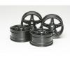 1:10 Twin 5-Sp. Wheels black(4) 26mm/+4