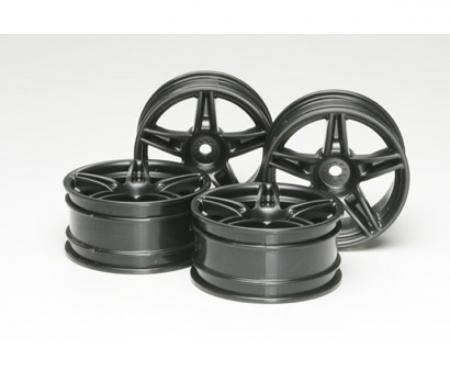 1:10 Twin 5-Sp. Felgen schw.(4) 26mm/+4
