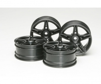 1:10 Twin 5-Sp. Wheels black(4) 26mm/+4
