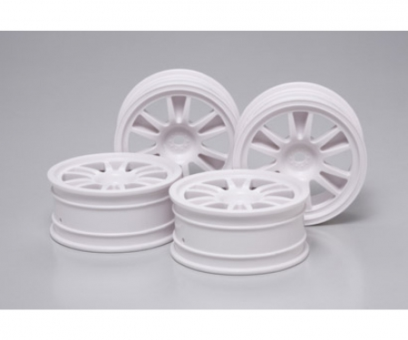1:10 Wheels (4) 2-Spoke 24mm +2mm