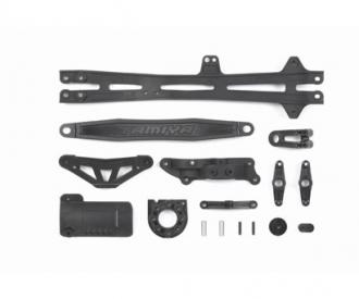 TT01E/R/D D-Parts Batt.-Holder/Motor Mo.