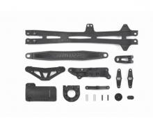 TT01E/R/D D-Teile Akkuhalter/Motorhalter