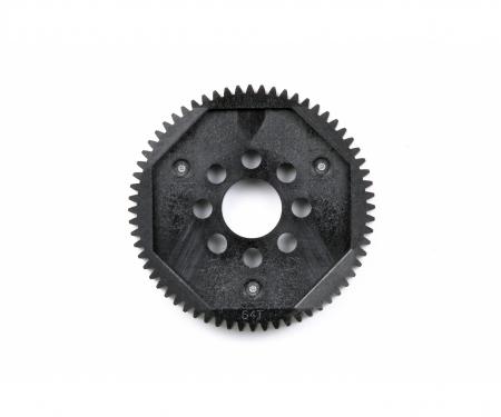 Spur Gear 64T 0,6 – TB03/TT02SG