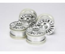 M-Chassis Felgen-Set Fiat 500 Silber (4)