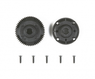 TA06 Rear Gear Differential Case Set 52T