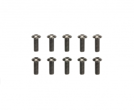 3x8mm Steel Hex Head Screws (10)
