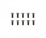 3x8mm Steel CS HexHead Screws