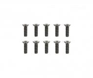 3x10mm 6-Kant-Senkk. Schraube Stahl(10)