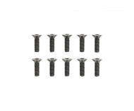 3x10mm Steel CS HexHead Screws