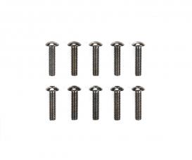 3x12mm Steel Hex Head Screws (10)