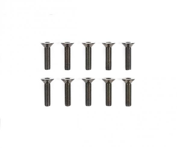 3x12mm 6-Kant-Senkk. Schraube Stahl(10)