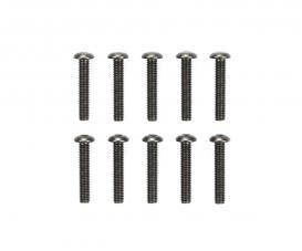 3x16mm Steel Hex Head Screws (10)